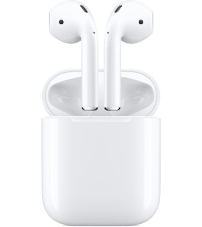 Apple Airpods 2 med laddfodral