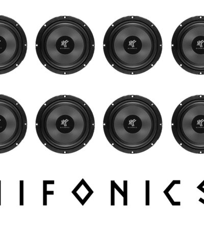 Hifonics VX6.2W midbasar billjud
